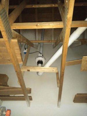 Menomonee Falls Radon Reduction Attic System W180 N84115, Town Hall Rd, Menomonee Falls, WI 53051